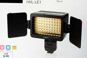 Sony HVL-LE1 LED Videoleuchte für Camcorder und Digitalkameras