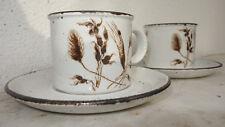Midwinter Stonehenge WILD OATS 2 Kaffeetassen & 2 Untertassen Coffee Cup Saucer