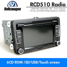 Autoradio VW RCD510 CD AUX USB SD MP2 CODE für Tiguan Passat Polo Golf Caddy EOS