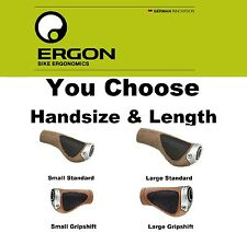 Ergon BioKork GP1- L Large & GP1-S Small Standard Grip& GripShift Mt/Hybrid Bike