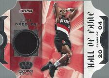 2019-20 Crown Royale Hall of Fame Memorabilia #4 Clyde Drexler Jersey - NM-MT