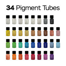 Hemway | Pigment Powder Tube Full Collection  - All Colours  34 x 3.9g