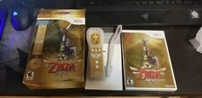 The Legend of Zelda: Skyward Sword Limited Edition (Nintendo Wii) w/Gold Remote