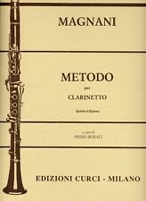 Magnani Curci metodo per clarinetto