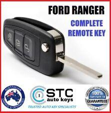 Complete Key FORD  PX RANGER FOCUS MONDEO REMOTE FLIP KEY FOB  2011 -  2015