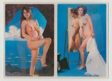 Postcard Pinup Risque Nude Girl 3D LENTICULAR ULTRA RARE Vintage Post Card 9956