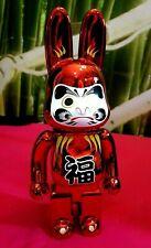 Medicom Bearbrick R@bbrick 400% Rabbit Daruma Red Tokyo Limited Edition New