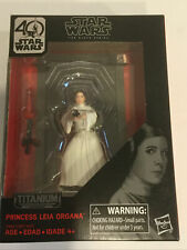 Star Wars Black Series Titanium Series 40th Anniversary Princess Leia Organa