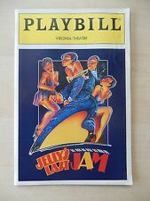 April 1992 - Virginia Theatre Playbill - Jelly's Last Jam - Gregory Hines