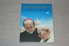 Świadectwo (książka + DVD)   - POLISH RELEASE JAN PAWEL II - PAPIEŻ