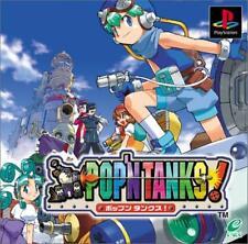 USED PS1 Pop'n-tankusu Japan Import
