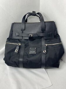 Henri Bendel Black Jetsetter Backpack