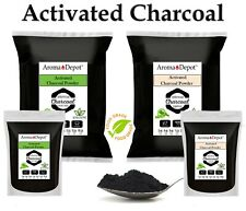Activated Charcoal Powder 100% Pure Natural FOOD GRADE Teeth Whitening