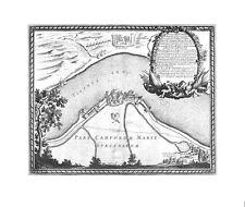 Antica mappa, DELINEATIO fortality polonorum annuncio lysoviam …