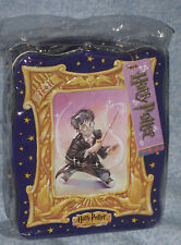 Harry Potter & The Sorcerer's Stone Carry Case/Lunch Box Metal 2000 Unused + Tag