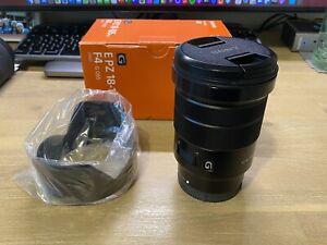 Sony E PZ 18-105 mm APS-C f/4 G OSS Standard Zoom Lens for Sony Boxed