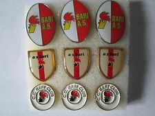 lotto 9 pins lot BARI FC club spilla football calcio soccer pins broches spille