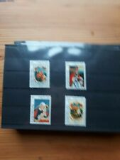 timbre luxembourg ** (th) lot 40   neufs   n968/71   caritas  evangeliste