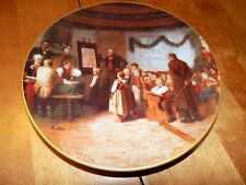 Albert Anker Collector Plate DAS SCHULEXAMEN Limited Edition Number Bradex Plate