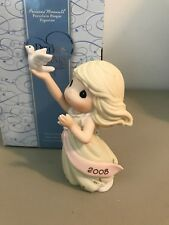 Precious Moment Figurine - 810001 - Blessings Of Peace To You - Dated 2008