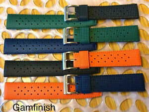Modern Tropic Watch Strap FKM Rubber High Quality Watch Band
