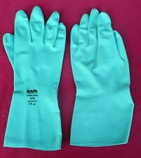 TWELVE MAPA Professional Stansolv A-10 Nitrile Lightweight Gloves, Size 9-9.5