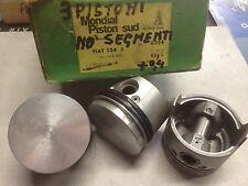 6354 3 PISTONI + SEGMENTI LEGGI BENE !!!  FIAT 124 S MOTORE 124B2000 80+0,40 NEW