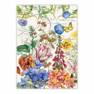 Michel Design Works ~~ Summer Days Floral Kitchen Towel ~~ NEW