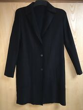 ISSEY MIYAKE Black Pleated Knee Length Jacket/Cardigan *Size 03 IM58-FD125