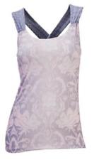 NEW prAna Women's Phoebe Top Winter Dreamer Shelf Bra Top Size Medium $69 Retail