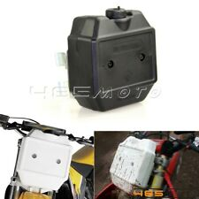 Off-Road Motorcycle Front Black Auxiliary Fuel Tanks Gas 1.3 Gallon For Suzuki