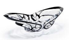 Lalique Crystal Tourbillons Oval Bowl Black Enamel Numbered Edition BNIB