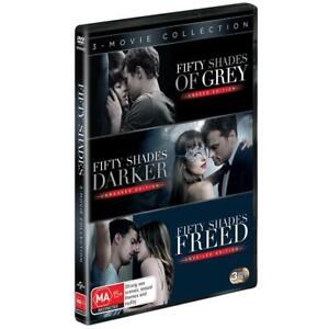 Fifty Shades Of Grey / Darker / Freed : Trilogy : NEW 3-DVD