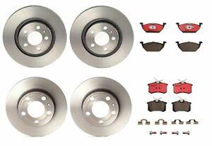 Brembo Front & Rear Brake Kit Disc Rotors Ceramic Pads For Beetle Jetta Golf MK4