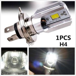 1x Motorcycle Car H4 9003 HB2 LED Bulb Hi/Lo Beam HID White Headlight High Power