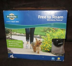 PetSafe Free To Roam WIRELESS FENCE Brand New in Box PIF00-15001
