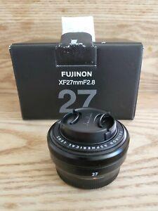FUJIFILM FUJINON XF 27mm F/2.8 Lens fits xt4 Xpro xe4
