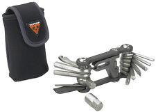 TOPEAK MINI 18 Multi Function Bike Tool Hardened Multitool w/ Bag TT2518 Bicycle