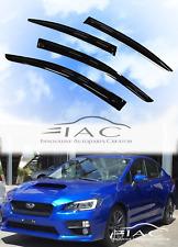 For Subaru WRX STI 12-18 Window Visor Vent Sun Shade Rain Guard
