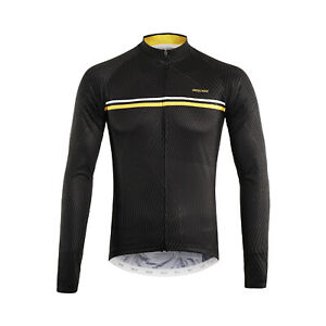 Men's Cycling Jersey Long Sleeve MTB Shirts Bicycle Clothing Quick Dry