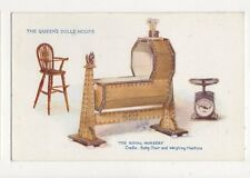 The Queens Dolls House Vintage Tuck  Postcard 593a