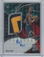 BOL BOL SPECTRA AUTO RPA /49 2 COLOR INTERSTELLAR PRIZM PATCH JERSEY RC INVEST
