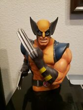 """Marvel Wolverine 7"""" Coin/Bust Bank Used"""