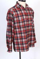 Vintage PENDLETON 100% Wool Long Sleeve Flannel Shirt USA Mens Size XL