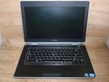 """Dell E6430 15"""" Laptop 2.6GHz i5-3320M 8GB RAM Grade C No Battery, Caddy, Webcam"""