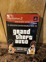 Grand Theft Auto Double Pack Greatest Hits Sony PlayStation 2 (PS2)