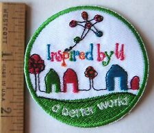 Girl Scout 2010 COOKIE SALES PATCH Inspired By You, A Better World Selling Badge