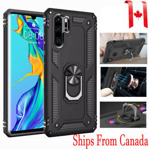 Huawei P30 / Lite /Pro Shockproof Heavy Duty Magtenic Ring Stand Hard Case Cover