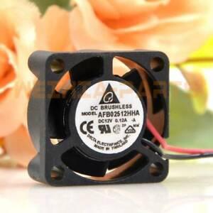 Delta AFB02512HHA F00 DC12V 0.12A Cooling Fan 2510 25x25x10mm 3pin new