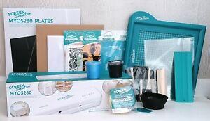 Screen Sensation MYOS, Base Kit, Blank Mesh, Screens, Acetate, Ink Custom Bundle